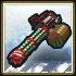 White Z-Mas Merry Minigun icon