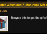 Winter Wasteland Z-Mas 2018 Gift