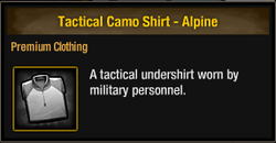 Tactical Camo Shirt - Alpine