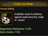 Frosty Face Mask