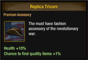Replica Tricorn