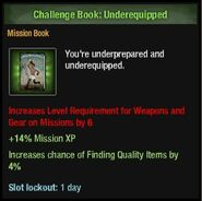 Underequipped book