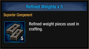 Refined Weights