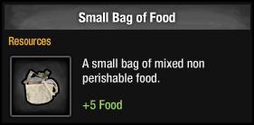 Small Bag of Food