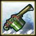 White Z-Mas Green Gift Gun icon