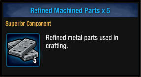 Refined Machined Parts
