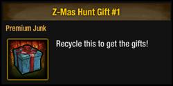 Z-Mas Hunt Gift 1