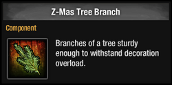 Z-Mas Tree Branch