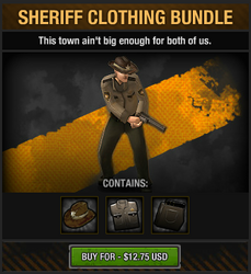 Sheriff Clothing Bundle