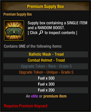Premium Supply Box 26
