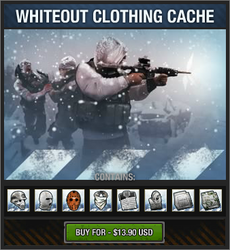 Whiteout Clothing Cache