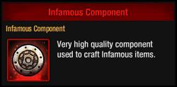 Infamous Component