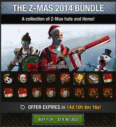 Tlsdz the z-mas 2014 bundle