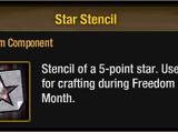 Star Stencil