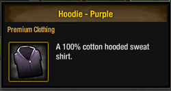 TLSDZ Hoodie - Purple