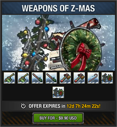 Weapons of Z-Mas