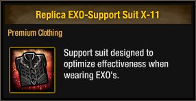 Replica EXO-Support Suit X-11