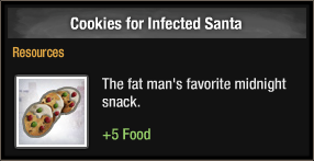 Cookies for Infected Santa 2018