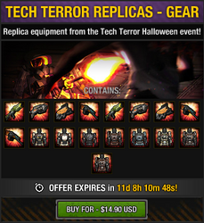Tech Terror Replicas - Gear