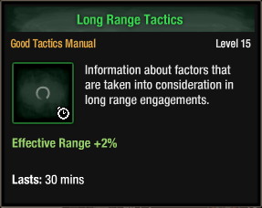 Long Range Tactics