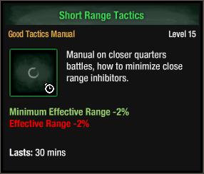 Short Range Tactics