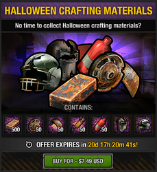 Tlsdz halloween crafting materials