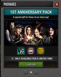 1st Anniversary Pack