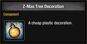 Z-Mas Tree Decoration 2015