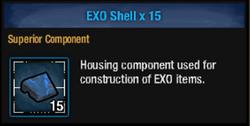 Exo shell