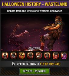 Halloween History - Wasteland