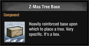 Z-Mas Tree Base 2017