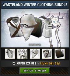 Wasteland Winter Clothing Bundle