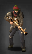 Blessed Blunderbuss equipped
