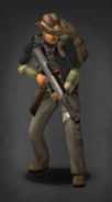 Survivor with suppressed scoped PDW-R