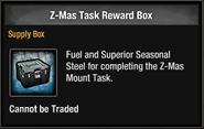 Tlsdz z-mas task reward box in inventory