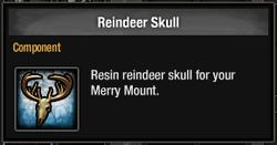 Tlsdz reindeer skull