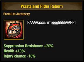 Wasteland Rider Reborn