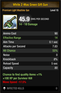 White Z-Mas Green Gift Gun