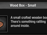Wood Box - Small