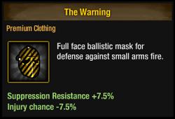 Tlsdz the warning
