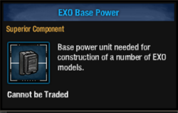 Exo base power