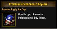 Tlsdz premium independence keycard