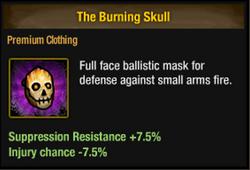 Ballistic skull