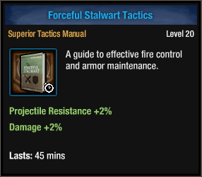 Forceful Stalwart Tactics