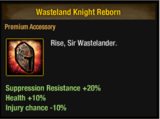 Wasteland Knight Reborn