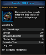 Grenade-m67 boom