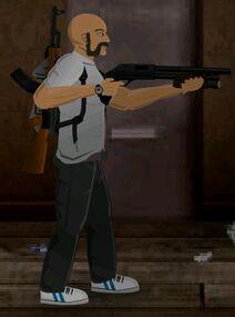 Survivor+shotgun
