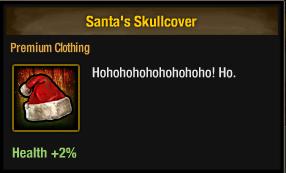 Tlsdz Santa's Skullcover