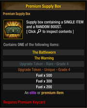 Premium Supply Box 20