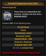 Premium Independence Box 2016 1